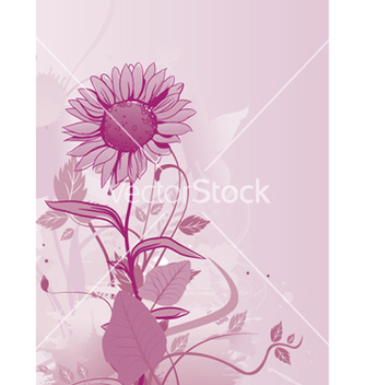 Free grunge background with floral vector - Kostenloses vector #252927