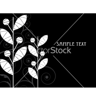 Free abstract floral background vector - Kostenloses vector #253317