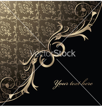 Free damask floral background vector - Kostenloses vector #254037