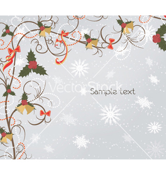 Free bells with floral vector - vector gratuit #254157