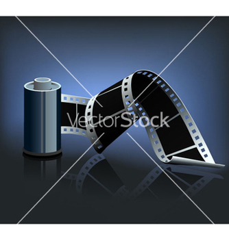 Free film strip vector - бесплатный vector #254317