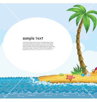 Free summer background vector - vector #254367 gratis