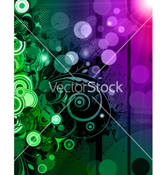 Free abstract floral background vector - vector #254377 gratis