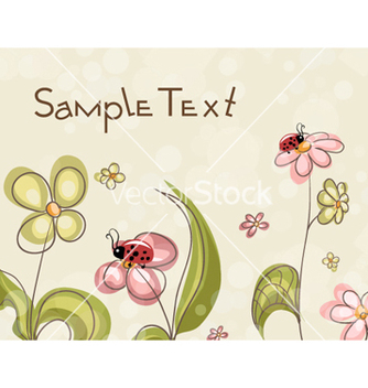 Free abstract floral background vector - Kostenloses vector #254437