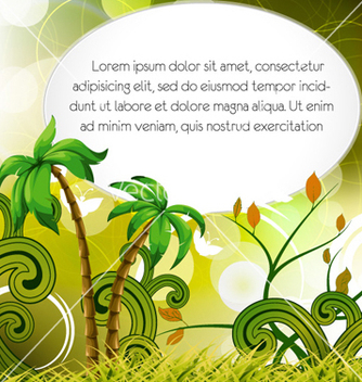 Free abstract summer background vector - Free vector #254627