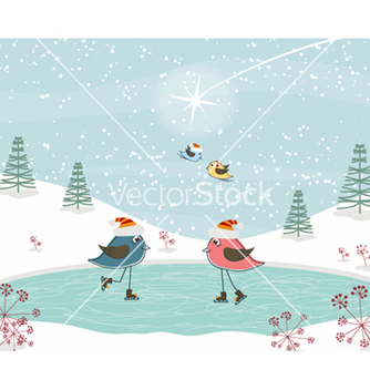 Free christmas greeting card vector - Kostenloses vector #254677
