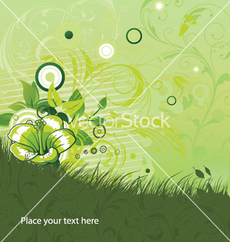 Free vintage floral background vector - vector #254697 gratis