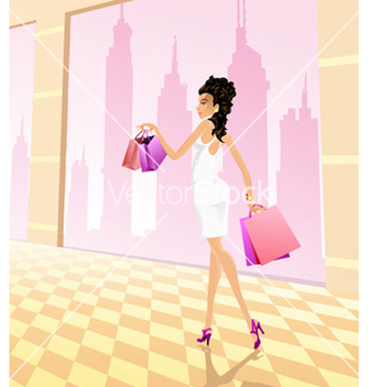 Free glamour girl vector - Kostenloses vector #254917