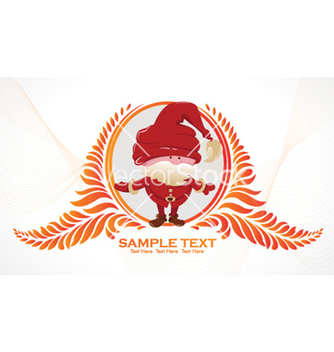 Free christmas greeting card vector - бесплатный vector #255257