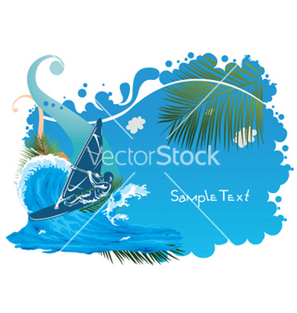 Free abstract summer vector - Free vector #255347