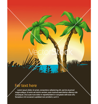 Free summer background vector - Free vector #255377