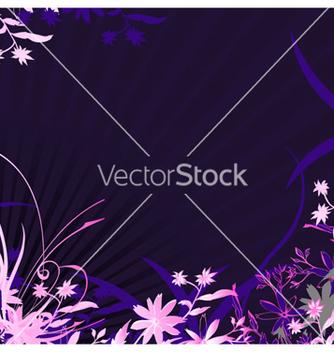 Free abstract floral background vector - Free vector #255497