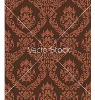 Free damask seamless pattern vector - Kostenloses vector #255547