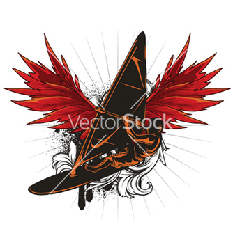 Free windsurfing vector - бесплатный vector #255727