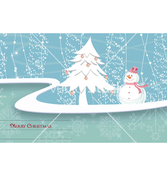 Free winter background vector - vector #255927 gratis