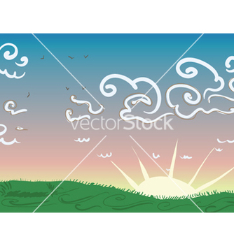 Free cartoon background vector - бесплатный vector #256017