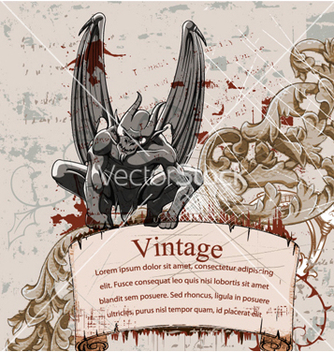 Free vintage background vector - vector gratuit #256057
