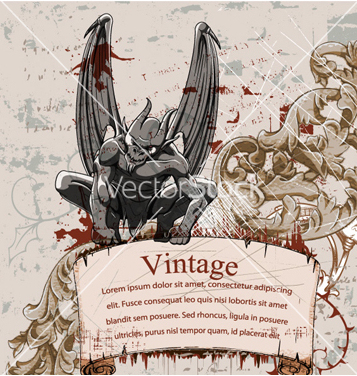 Free vintage background vector - Free vector #256057