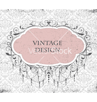 Free vintage invitation vector - бесплатный vector #256467