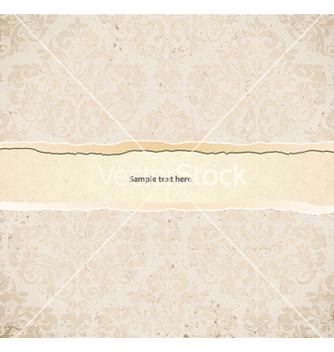 Free grunge damask background vector - Kostenloses vector #256717