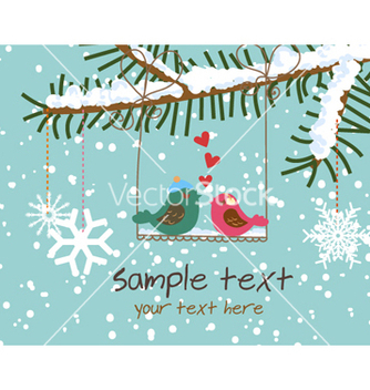 Free christmas greeting card vector - Kostenloses vector #256757