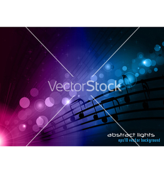 Free abstract music background vector - бесплатный vector #256937