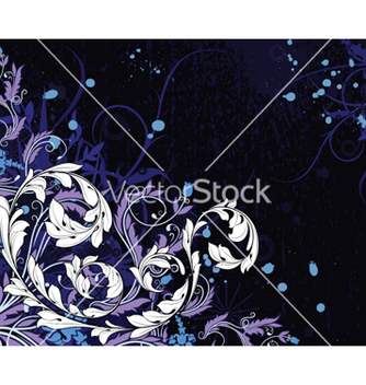 Free abstract floral background vector - Free vector #257537