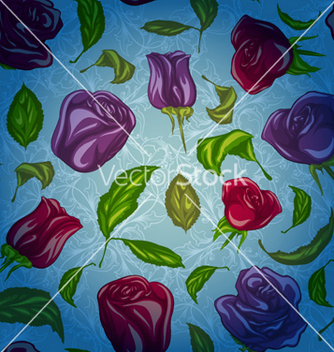 Free colorful floral pattern vector - vector #257837 gratis