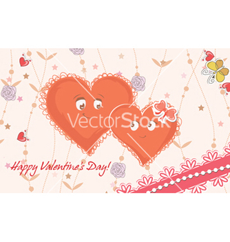 Free hearts in love vector - Free vector #258027