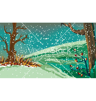 Free winter background vector - vector gratuit #258047