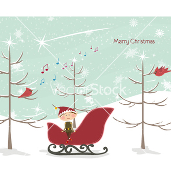 Free winter background vector - бесплатный vector #258187