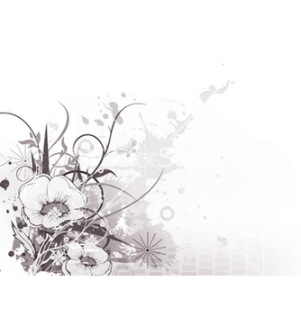 Free vintage floral background vector - Free vector #258287