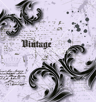 Free vintage background vector - Kostenloses vector #258327