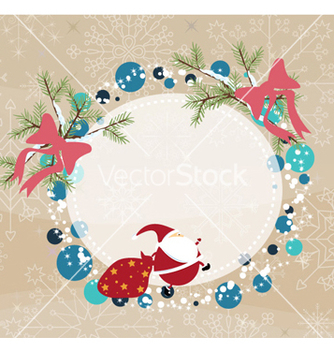 Free christmas frame vector - Free vector #258737