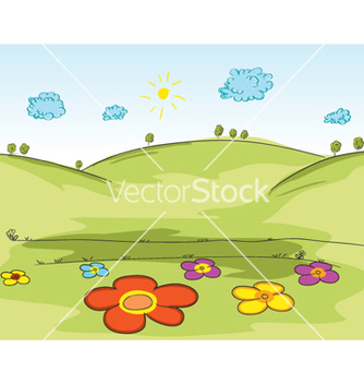 Free cartoon background vector - vector gratuit #258797
