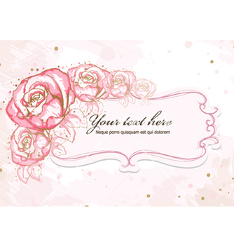 Free colorful floral frame vector - бесплатный vector #259157
