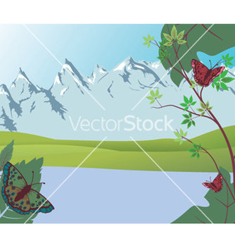 Free spring background vector - vector #259167 gratis
