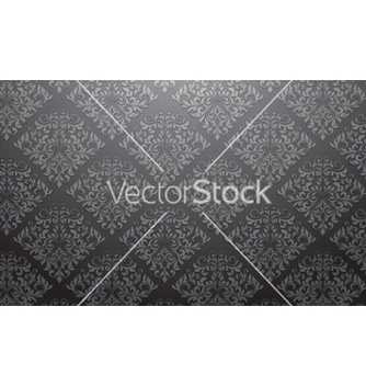 Free damask wallpaper vector - vector #259197 gratis