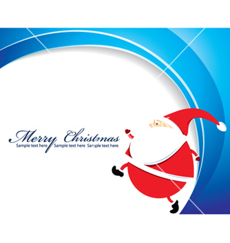 Free christmas greeting card vector - Free vector #259227