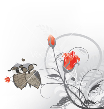 Free love birds vector - vector #259237 gratis