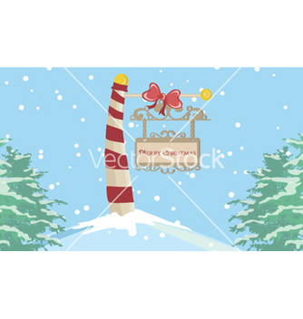 Free christmas greeting card vector - Kostenloses vector #259247