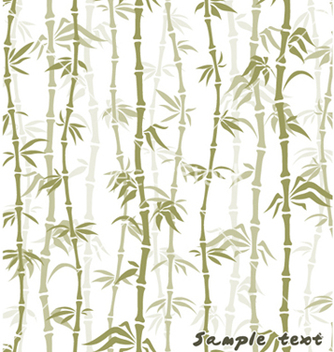 Free bamboo background vector - Free vector #259317