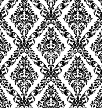 Free damask seamless pattern vector - Kostenloses vector #259767