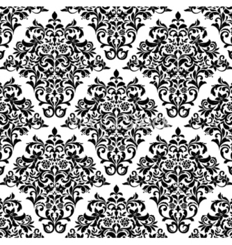 Free damask seamless pattern vector - Kostenloses vector #259847