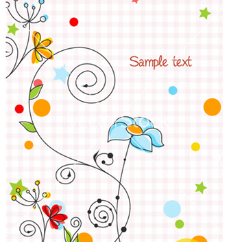 Free abstract colorful background vector - Kostenloses vector #259887