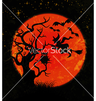 Free halloween background vector - Free vector #260197