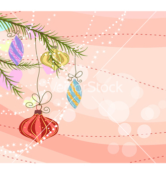 Free christmas background vector - Kostenloses vector #260317