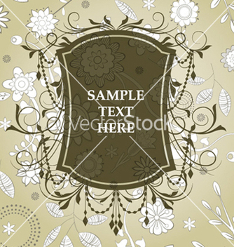 Free vintage label vector - бесплатный vector #260347