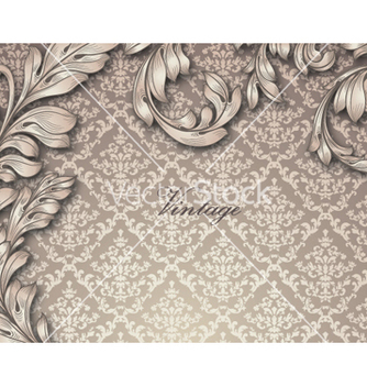 Free vintage background vector - Free vector #260437