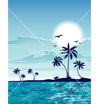 Free summer background vector - Kostenloses vector #260717